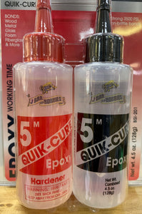 Quik-Cure  5 min Epoxy 4.5 oz.