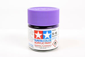 Tamiya  ACRYLIC   X-16 PURPLE 23Ml Bottle, glossy finish
