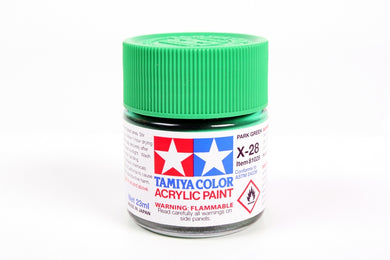 Tamiya  ACRYLIC X-28 PARK GREEN 23Ml Bottle