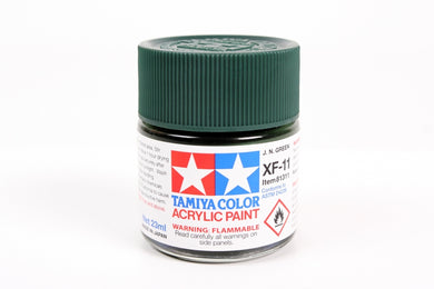 Tamiya  ACRYLIC XF-11 J.N. GREEN 23Ml Bottle