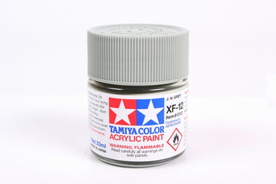 Tamiya  ACRYLIC XF-12 J.N. GRAY 23Ml Bottle