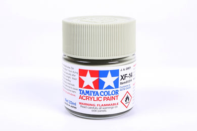 Tamiya  ACRYLIC XF-14 J.A. GRAY 23Ml Bottle