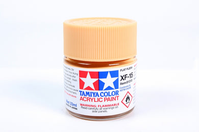Tamiya  ACRYLIC XF-15 FLAT FLESH 23Ml Bottle