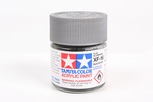 Tamiya  ACRYLIC XF-16 FLAT ALUMINUM 23Ml Bottle
