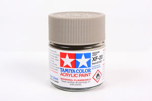 Tamiya  ACRYLIC XF-20 MEDIUM GRAY 23Ml Bottle