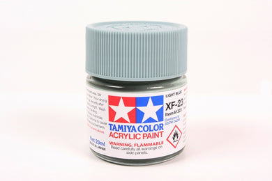 Tamiya  ACRYLIC XF-23 LIGHT BLUE 23Ml Bottle