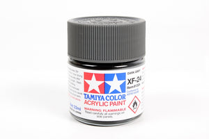Tamiya  ACRYLIC XF-24 DARK GRAY 23Ml Bottle