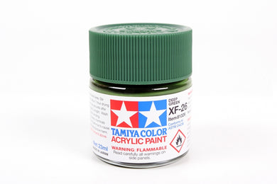 Tamiya  ACRYLIC XF-26 DEEP GREEN 23Ml Bottle