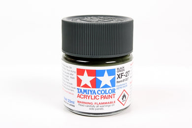 Tamiya  ACRYLIC XF-27 BLACK GREEN 23Ml Bottle