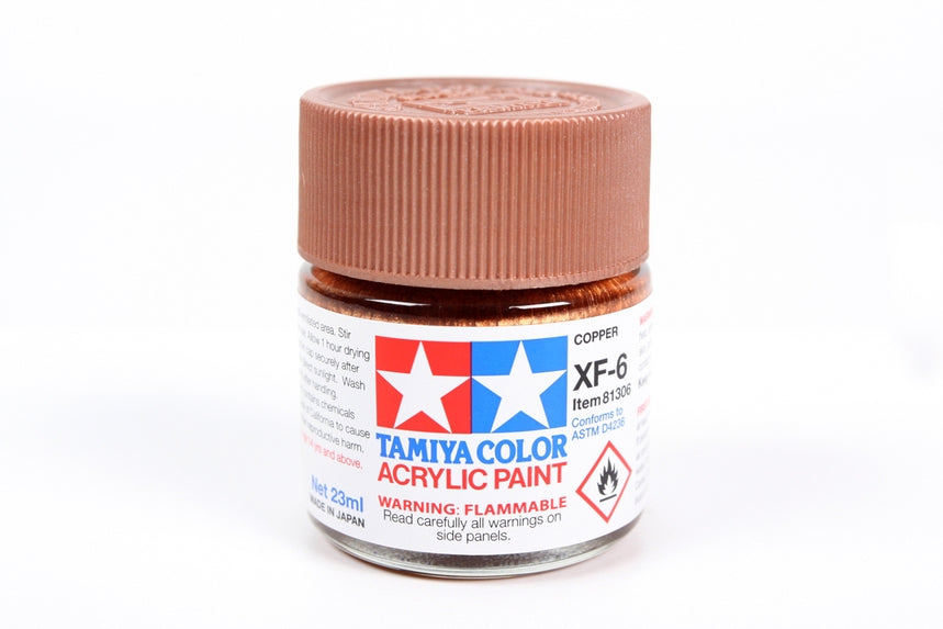 Tamiya  ACRYLIC XF-6 COPPER 23Ml Bottle