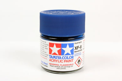 Tamiya  ACRYLIC   XF-8 FLAT BLUE 23Ml Bottle