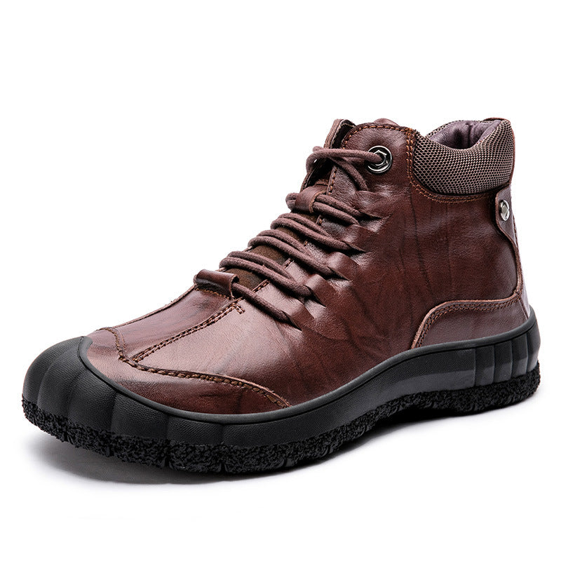 Outdoor Round Head Warm Martin Boots