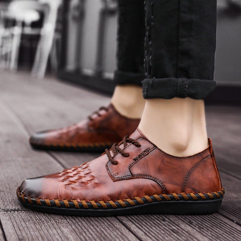 Handmade Large Size Leather Shoes