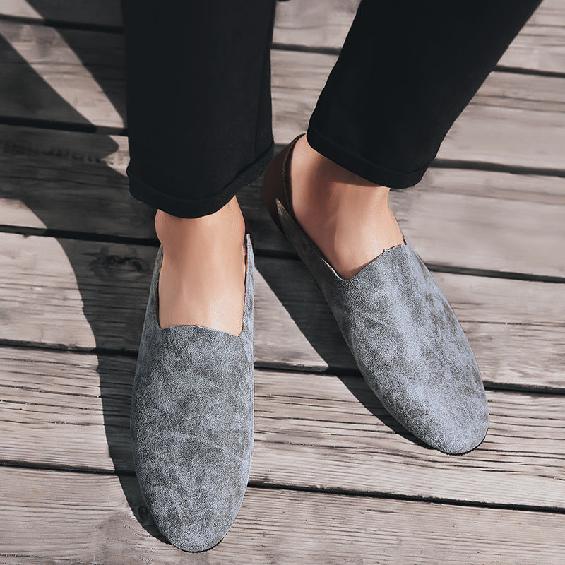 Vintage Splicing Casual Loafers