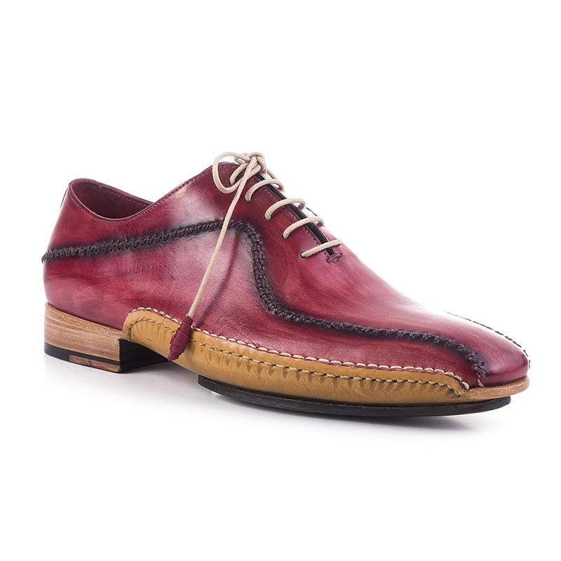 Men's Retro Lace up Leather Shoes