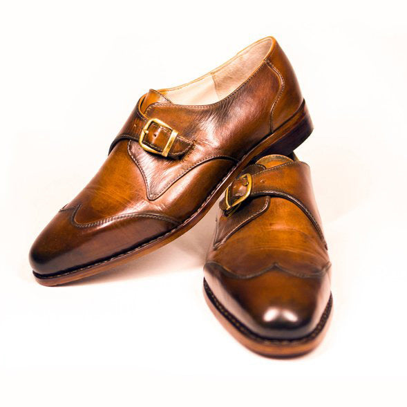 Handmade Monk Shoes
