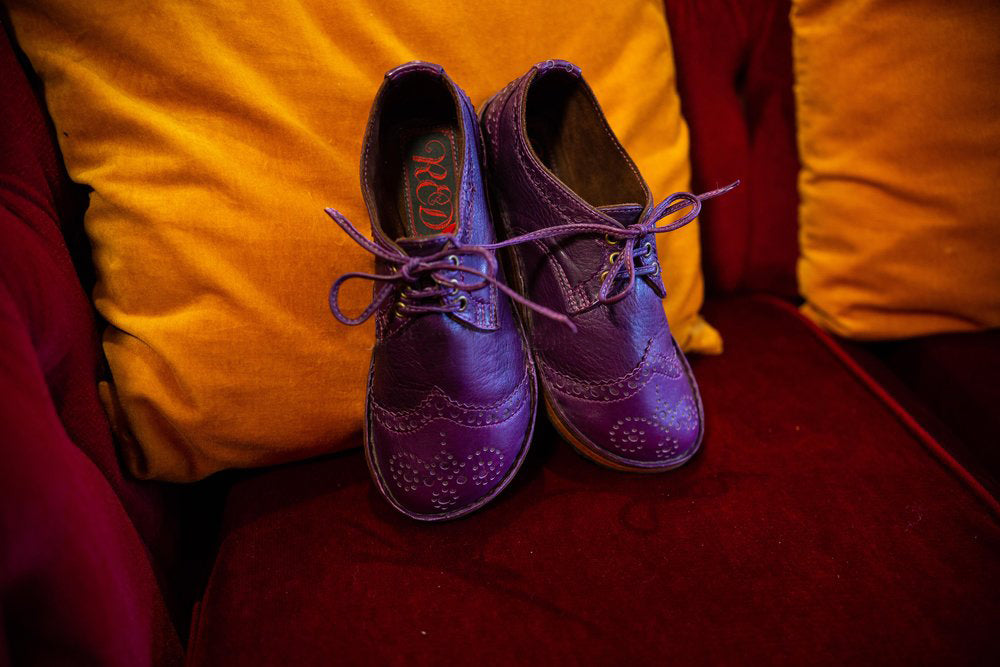 Handmade vintage color matching Brock Shoes
