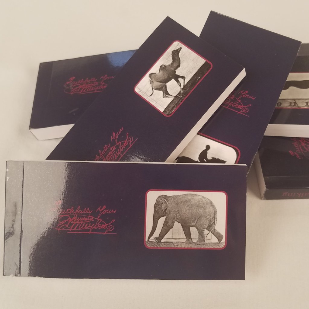 Eadweard Muybridge Animal Flipbooks (Set of 6)