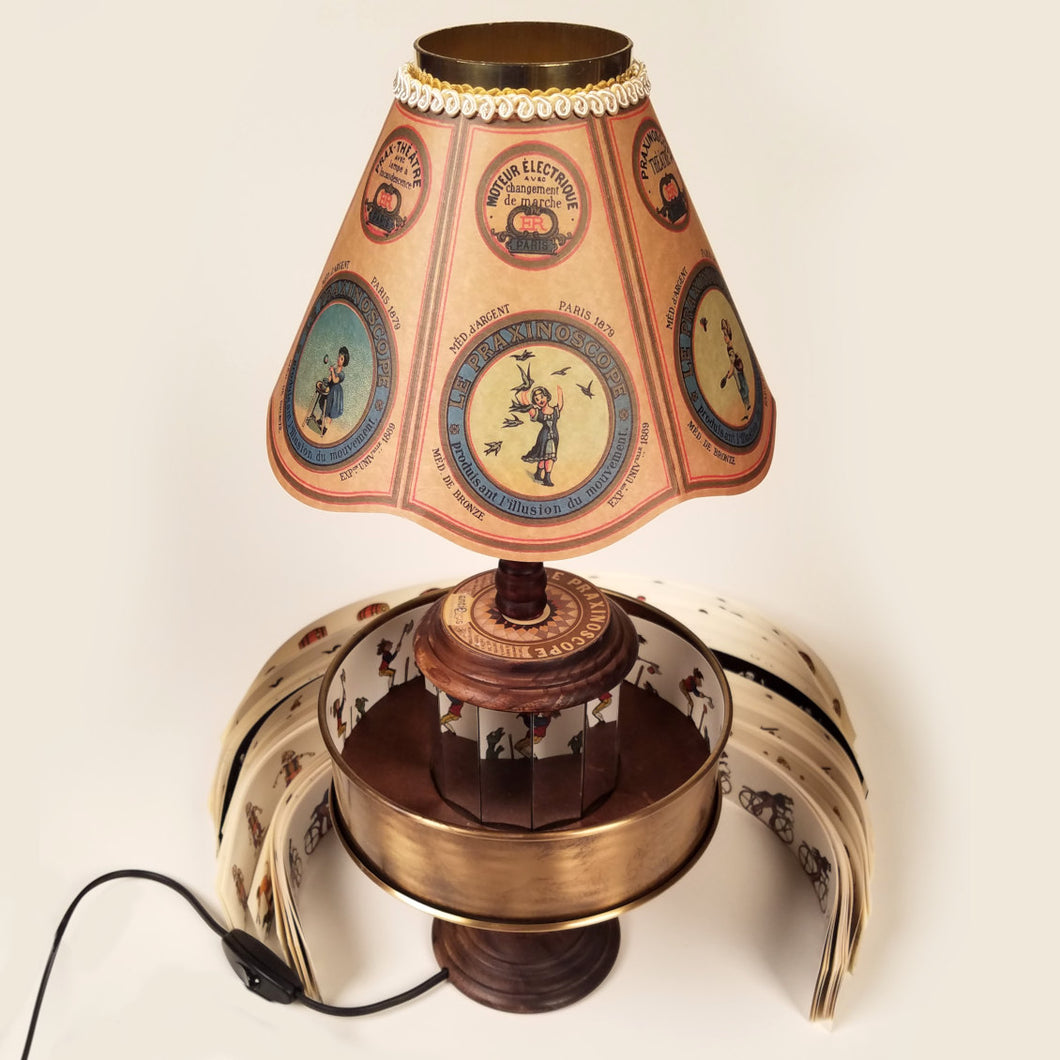 Praxinoscope Lamp Replica