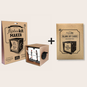 FlipBooKit MAKER CRAFT + Blank DIY Card Kit
