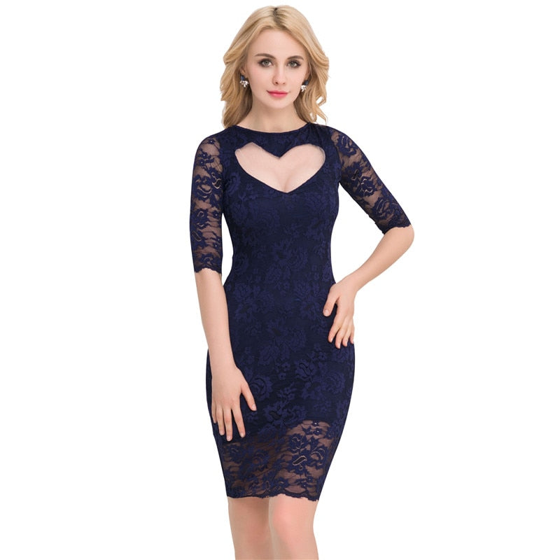 2cb023ca7a602 Plus Size Lace Dresses with Sleeves – Fashion dresses