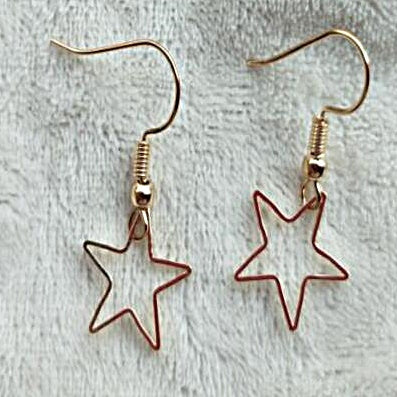 STAR OUTLINE EARRINGS