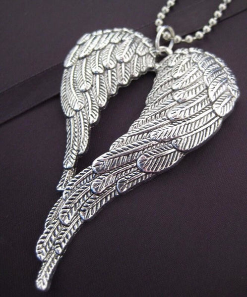 ANGEL WINGS, LARGE (Ball Chain)