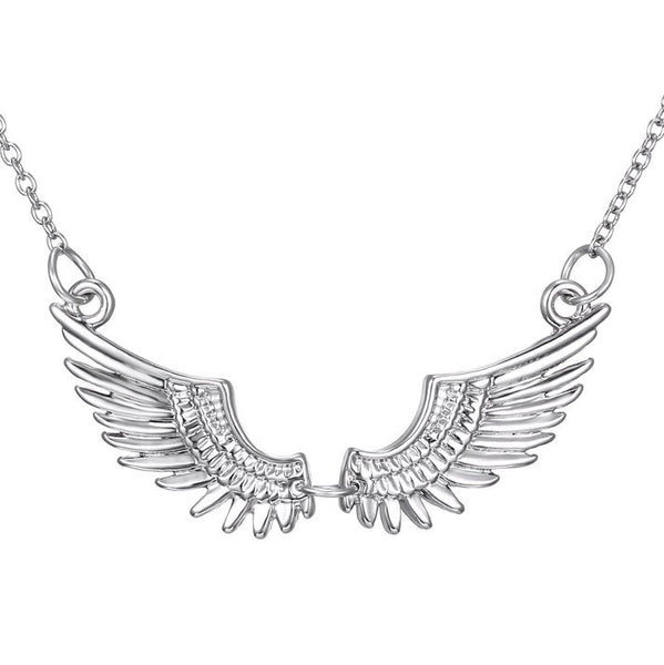 ANGEL WINGS, SOLID SILVER PLATED