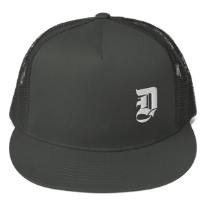 D Logo Embroidered - Mesh Back Snapback