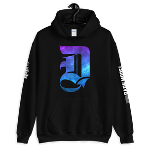 "D Logo ""Spaced Out"" Unisex Hoodie"