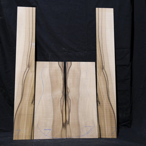 Guitar Back & Sides Set - Blackheart Sassafras-Tasmanian Timbers-East Coast Specialised Timbers