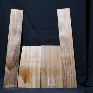 Ukulele Back & Sides - Blackwood-Tasmanian Timbers-East Coast Specialised Timbers