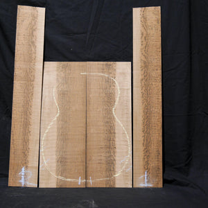 Guitar Back & Sides Set - Tiger Myrtle-Tasmanian Timbers-East Coast Specialised Timbers