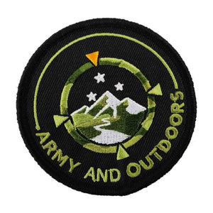 Army and Outdoors Embroidered Patch