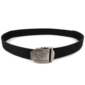 Black Navy SEAL Web Belt
