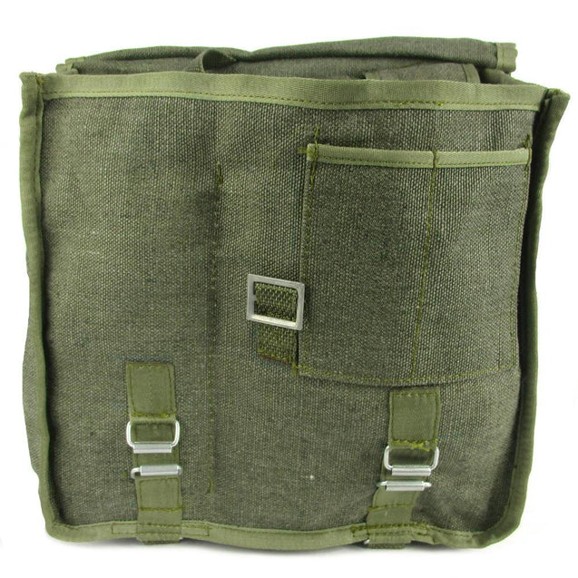 Polish Canvas Shoulder Bag