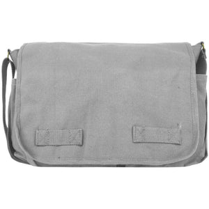 Vintage Canvas Messenger Shoulder Bag
