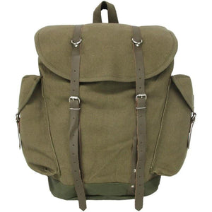 German Vintage Canvas Alpine Rucksack