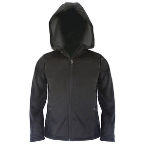 Kids Pango Softshell Jacket - Black