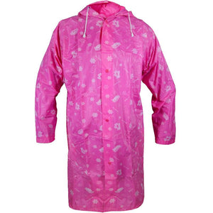 Kids Penguin Raincoat - Pink