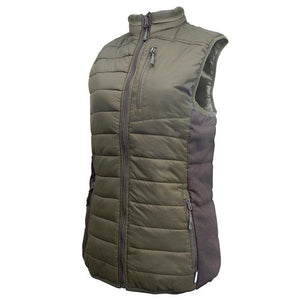 Womens Mossburn Vest - Green