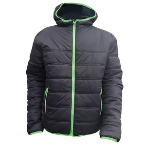 Heron Padded Jacket - Black