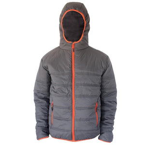 Heron Padded Jacket - Grey
