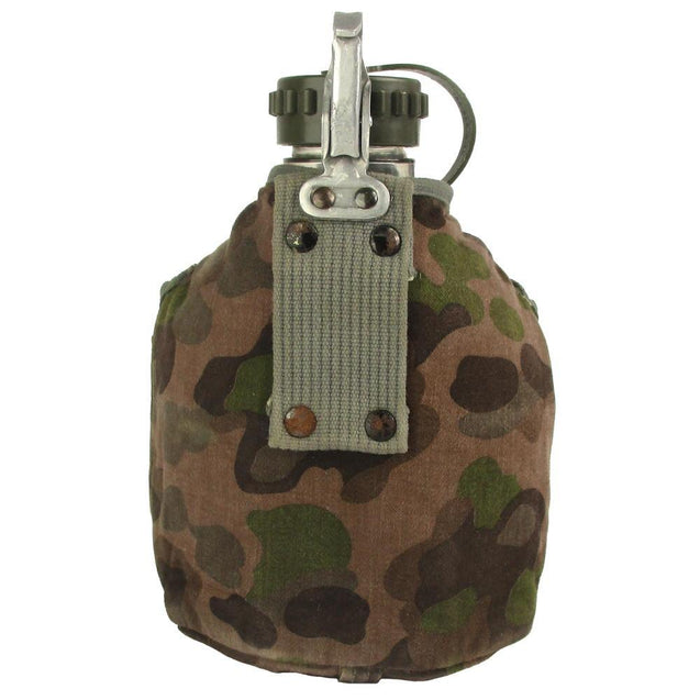 Austrian Canteen with Camouflage Cover