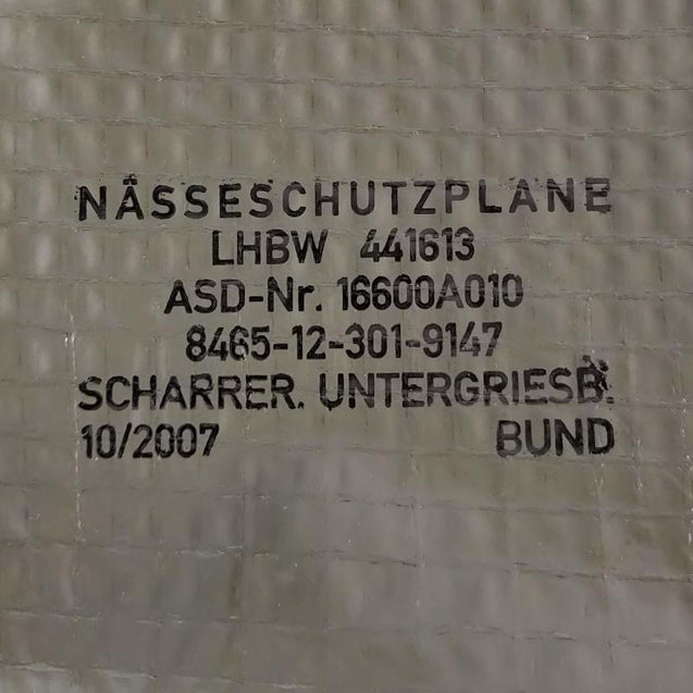 German Ripstop Ground Sheet