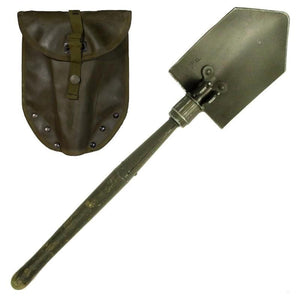 Austrian Folding Shovel with O/D Cover
