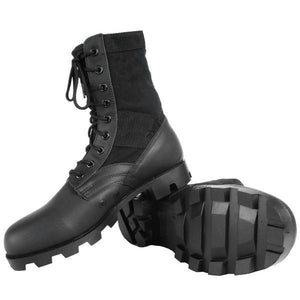GI Style Jungle Boots - Black
