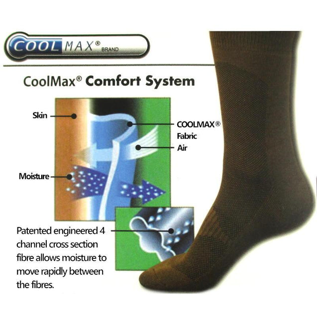 CoolMax Socks - Black