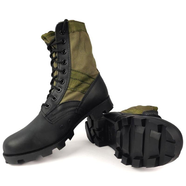 GI Style Jungle Boots - Olive Drab