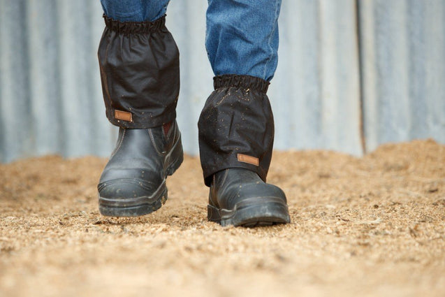 Outback Oilskin Boot Guards